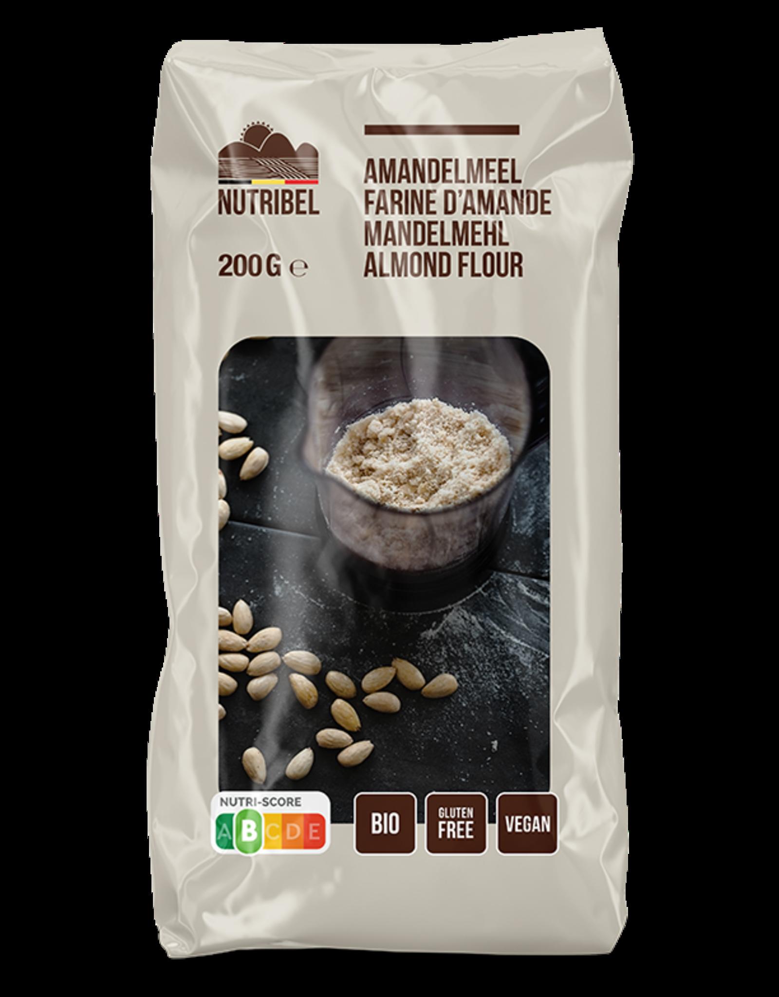 Nutribel Amandelmeel bio & glutenvrij 200g