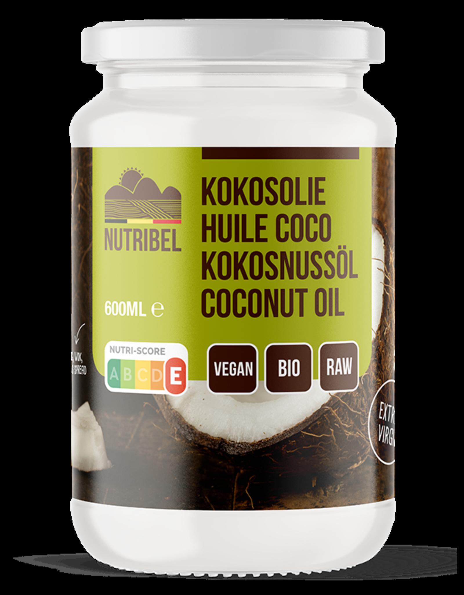 Nutribel Huile de noix de coco extra vierge bio 600ml
