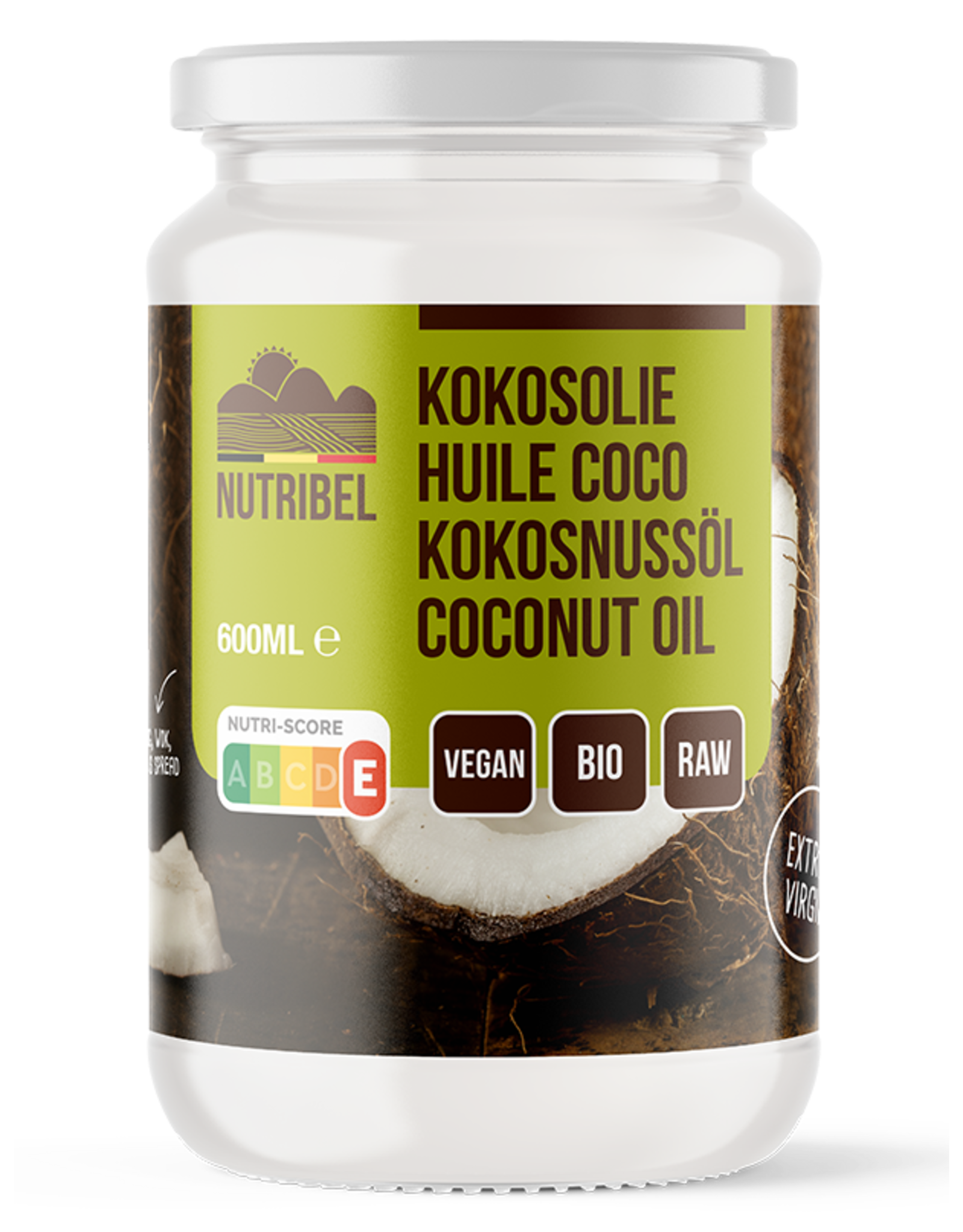 Nutribel Kokosolie extra vierge bio 600ml