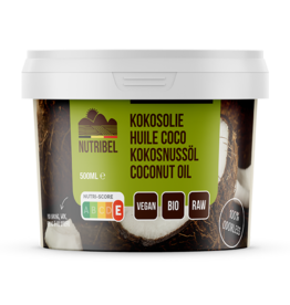 Kokosolie geurloos bio 500ml