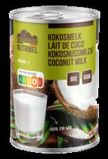 Nutribel Kokosmelk bio & glutenvrij 400ml