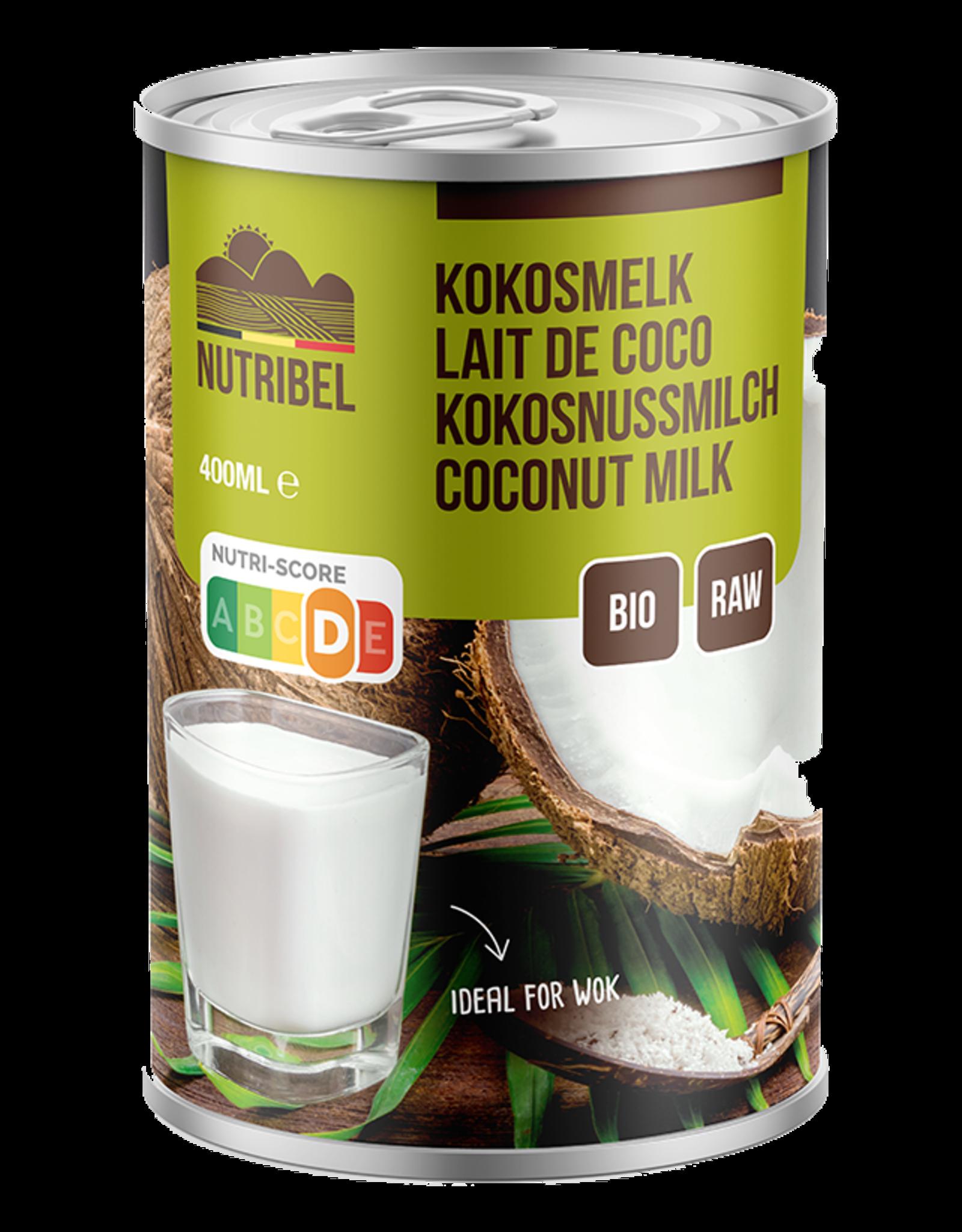 Nutribel Lait de noix de coco bio & sans gluten 400ml