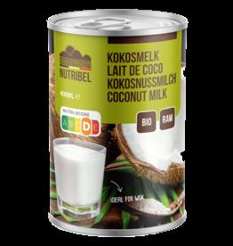 Kokosmelk bio & glutenvrij 400ml