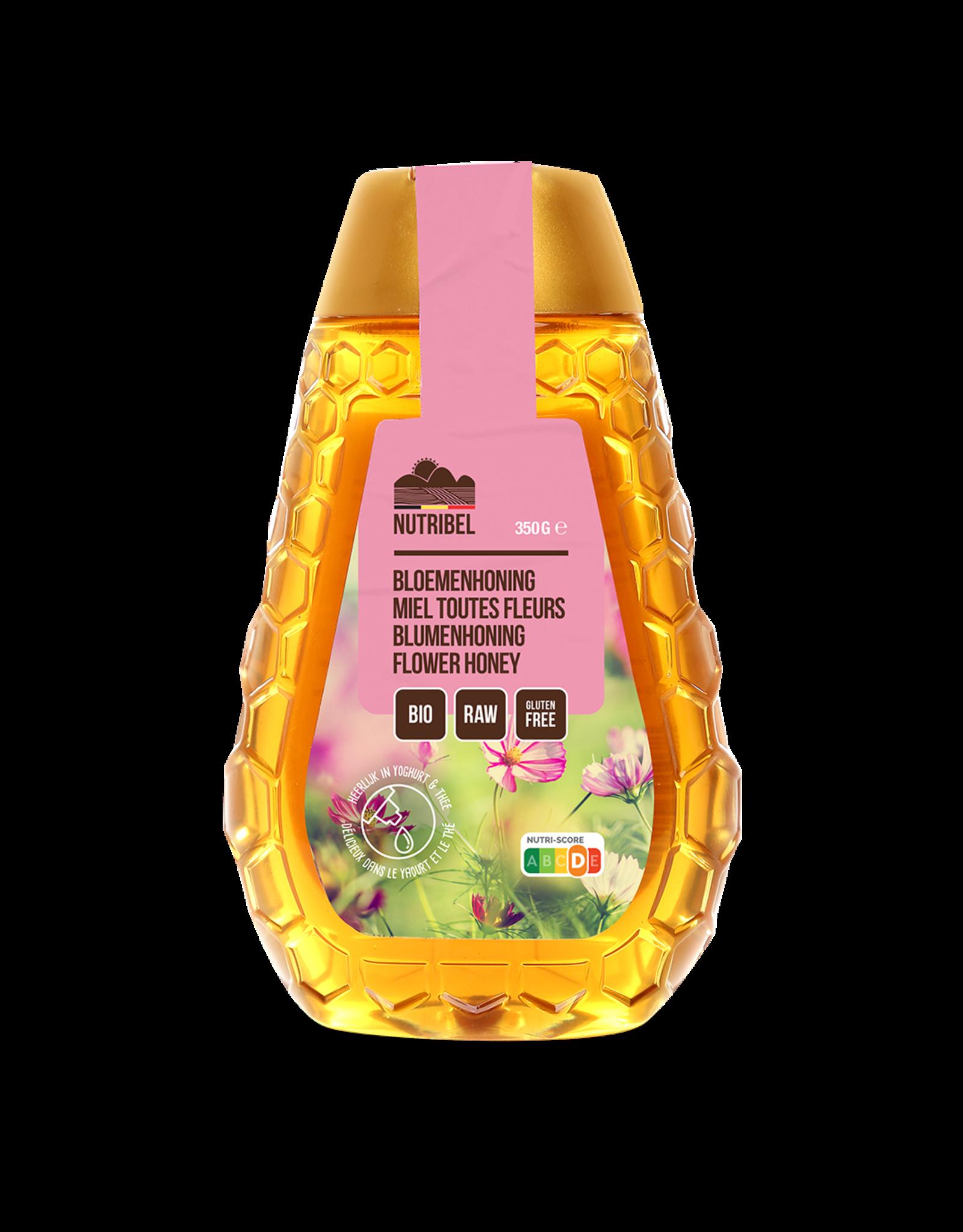 Nutribel Bloemen honing bio 350g