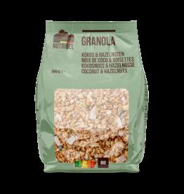 Granola kokos hazelnoot bio 300g