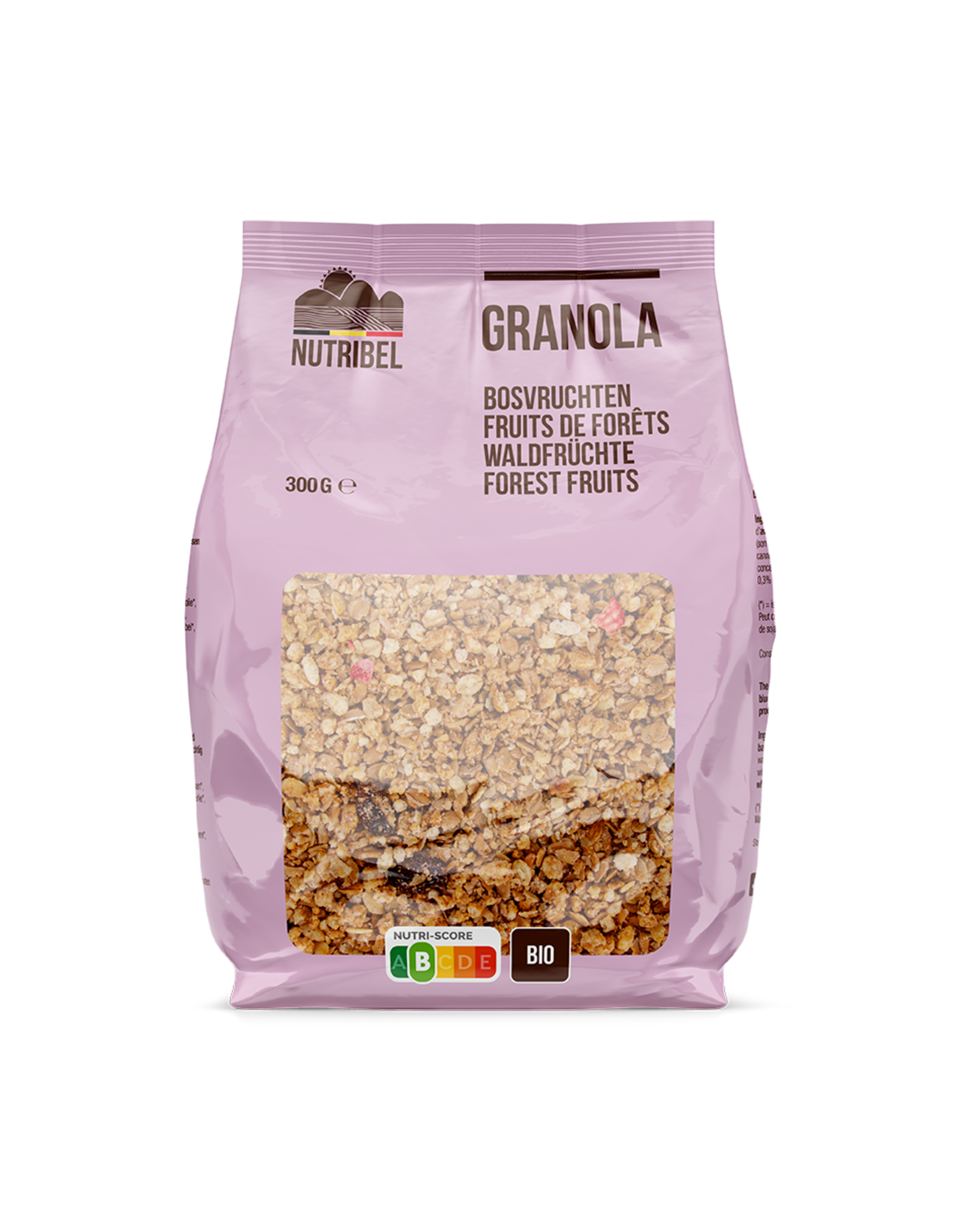 Nutribel Granola bosvruchten bio 300g