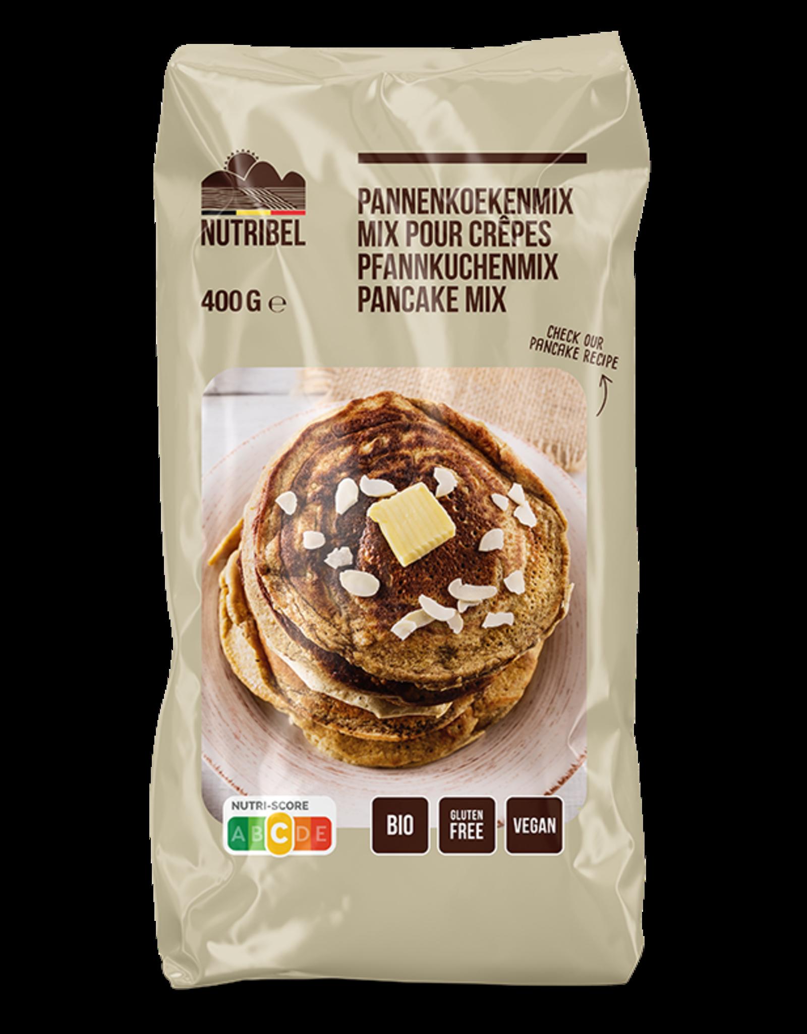 Nutribel Pannenkoekenmix bio & glutenvrij 400g