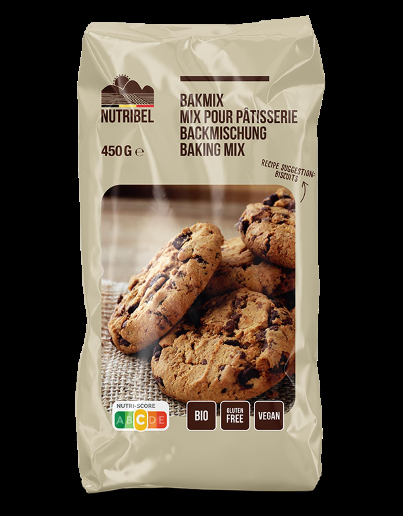 Nutribel Bakmix universeel bio & glutenvrij 450g