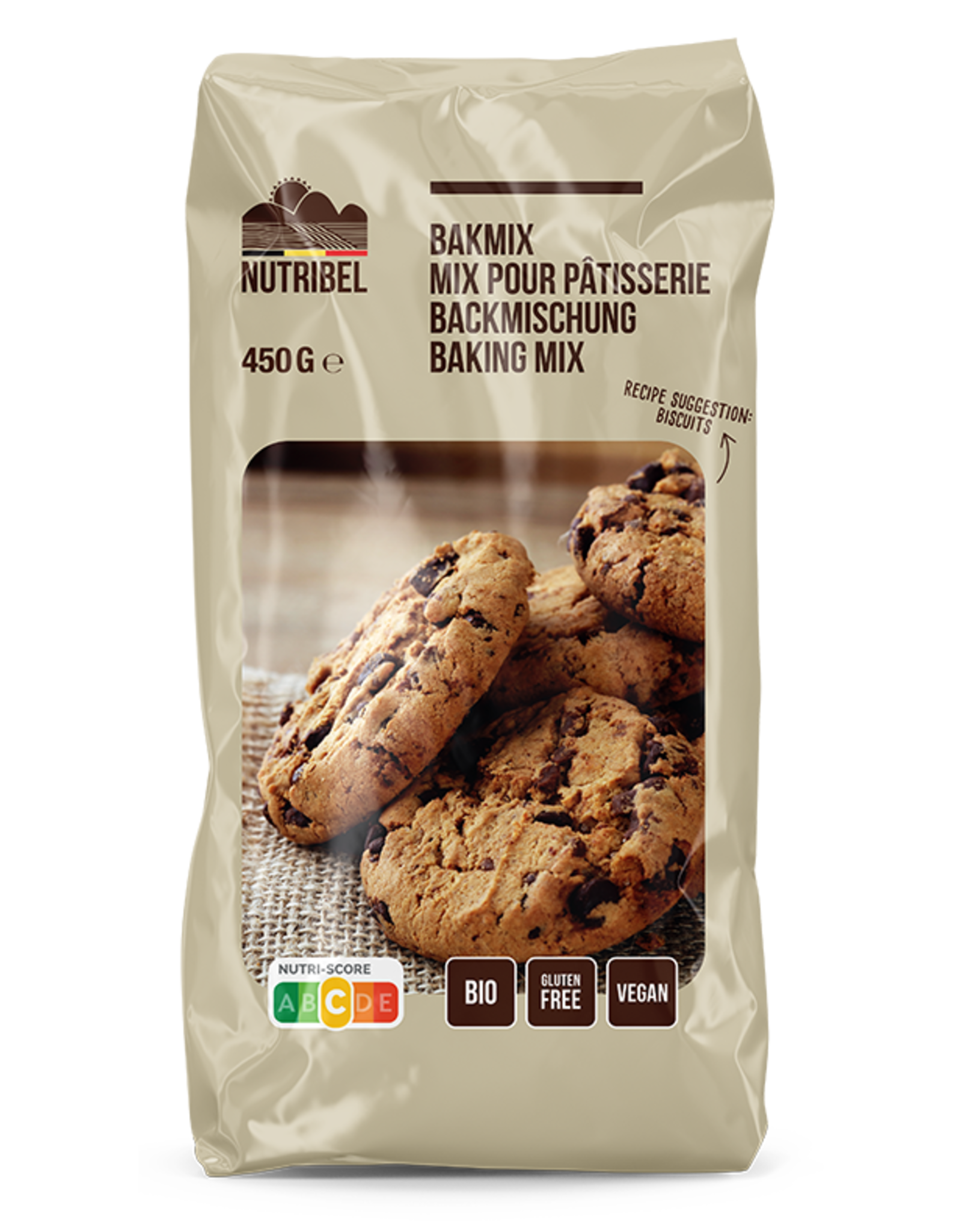 Nutribel Pâte mix universel bio & sans gluten 450g