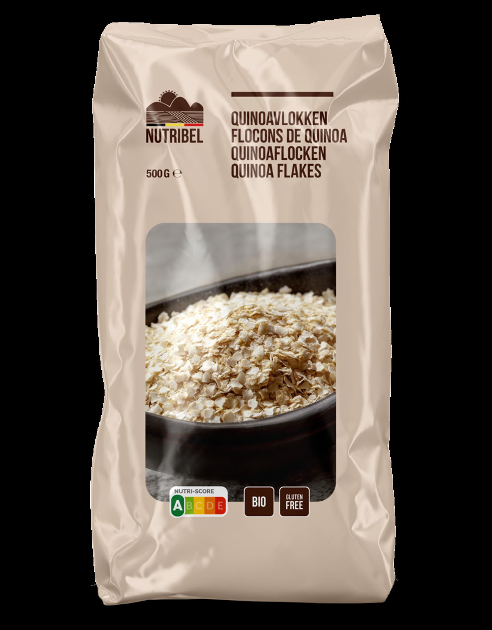 Nutribel Flocons quinoa bio & sans gluten 500g