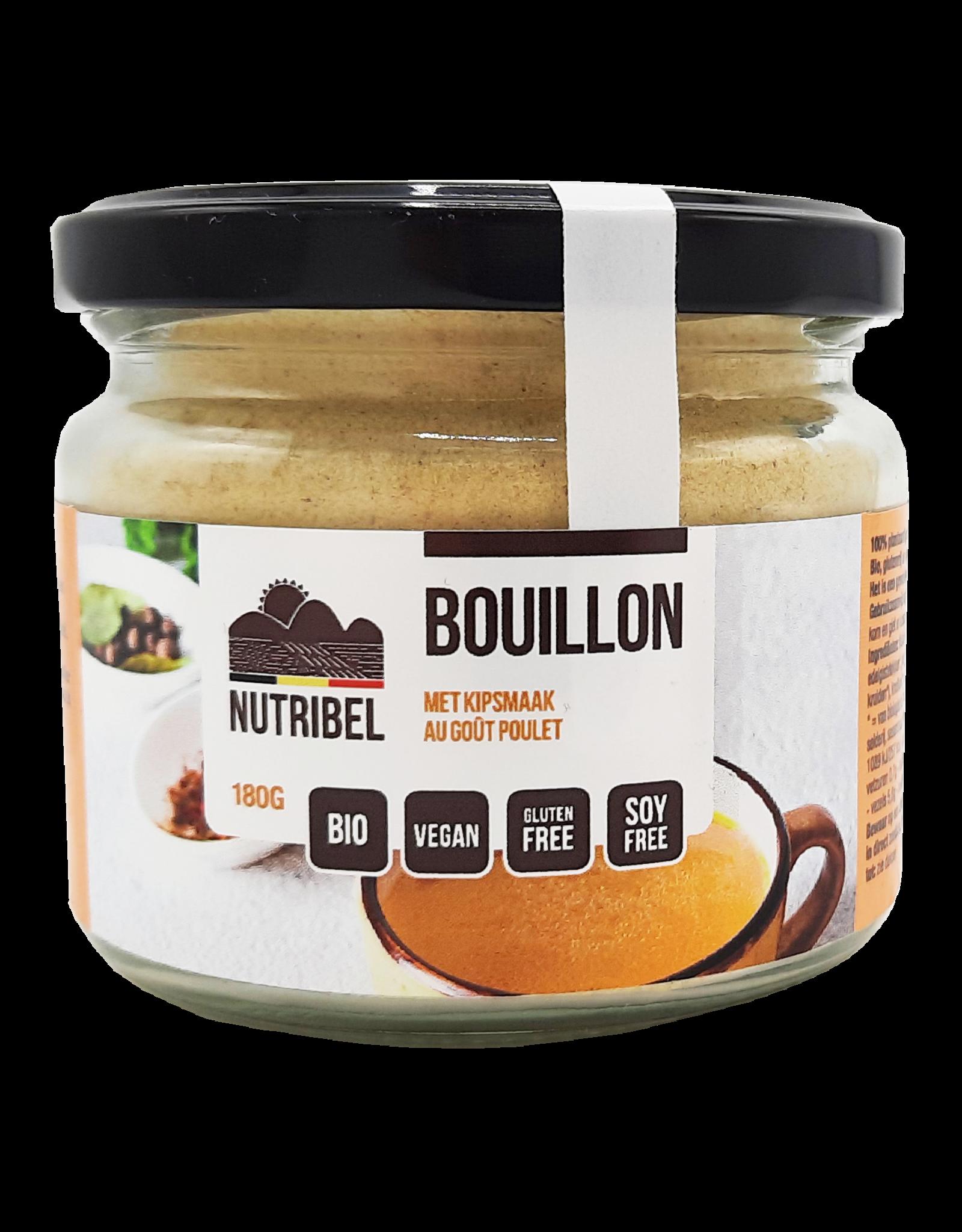 Nutribel Bouillon kipsmaak vegan bio 180g