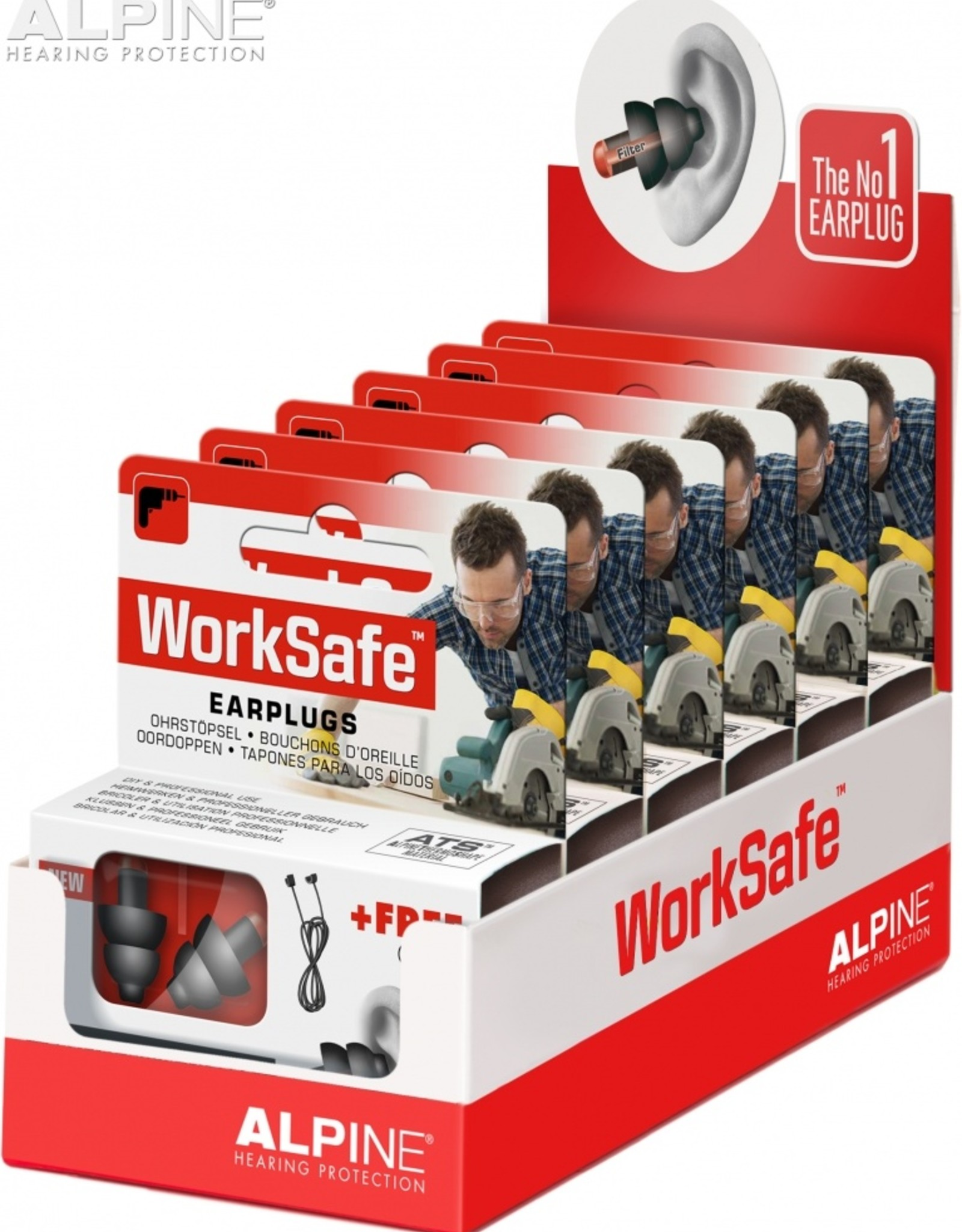 Alpine WorkSafe display
