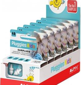 Alpine Pluggies Kids display