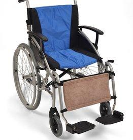 Fleece kuitsteun voor rolstoel