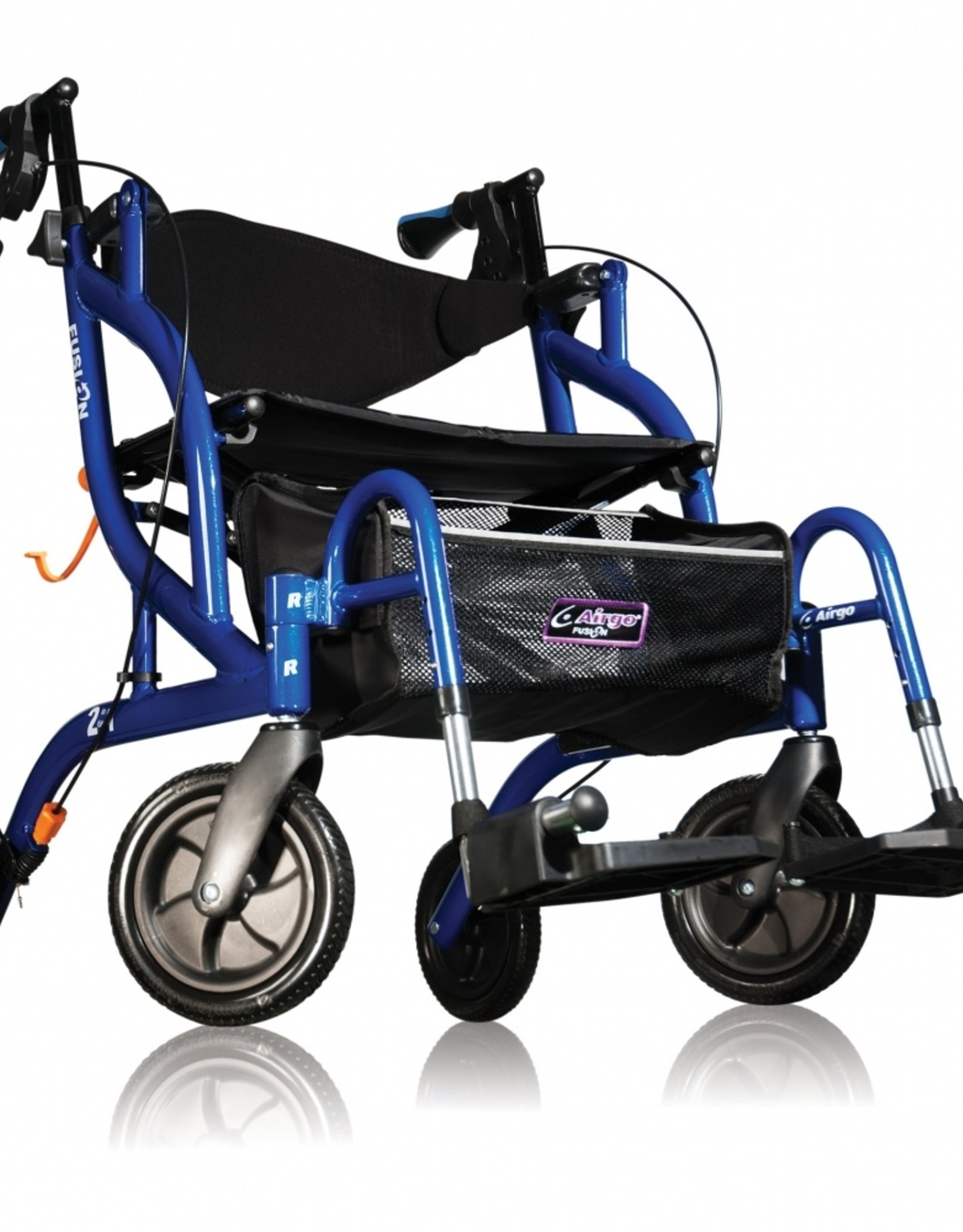 Airgo® Fusion™ inklapbare rollator & transportstoel in één