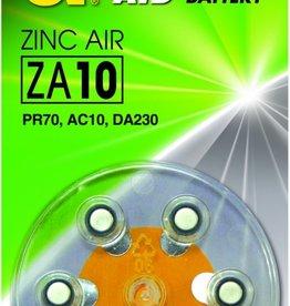 Zink Air hoorapparaat batterijen