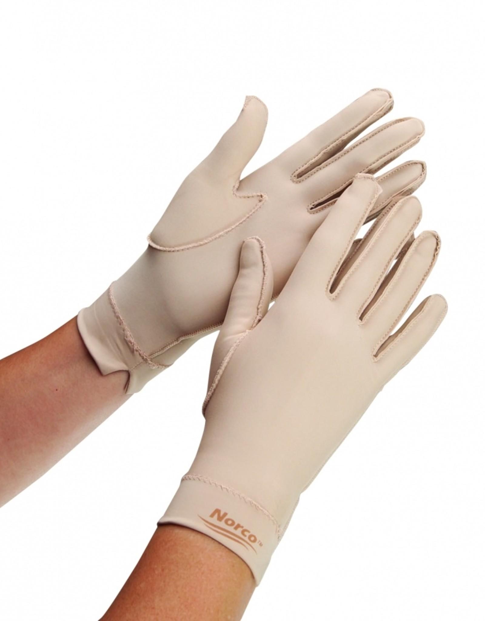 Oedeemhandschoenen - hele vingers, polslengte