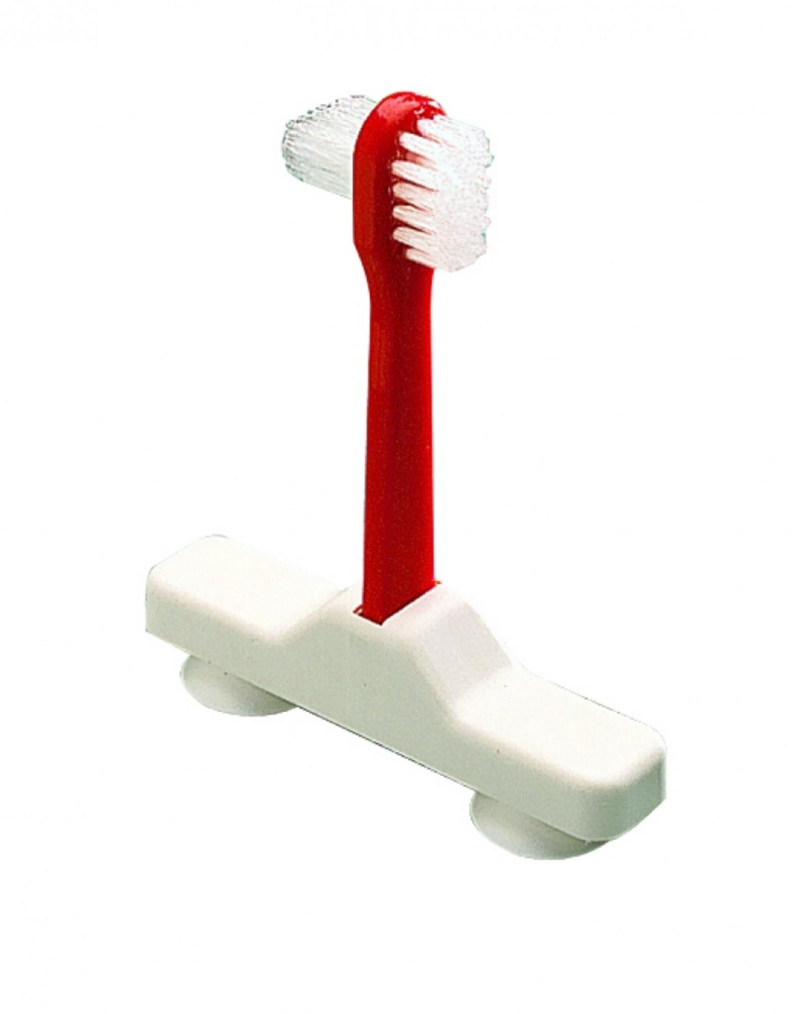 Tandenborstel kunstgebit op zuignap