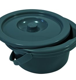 Toiletemmer met deksel