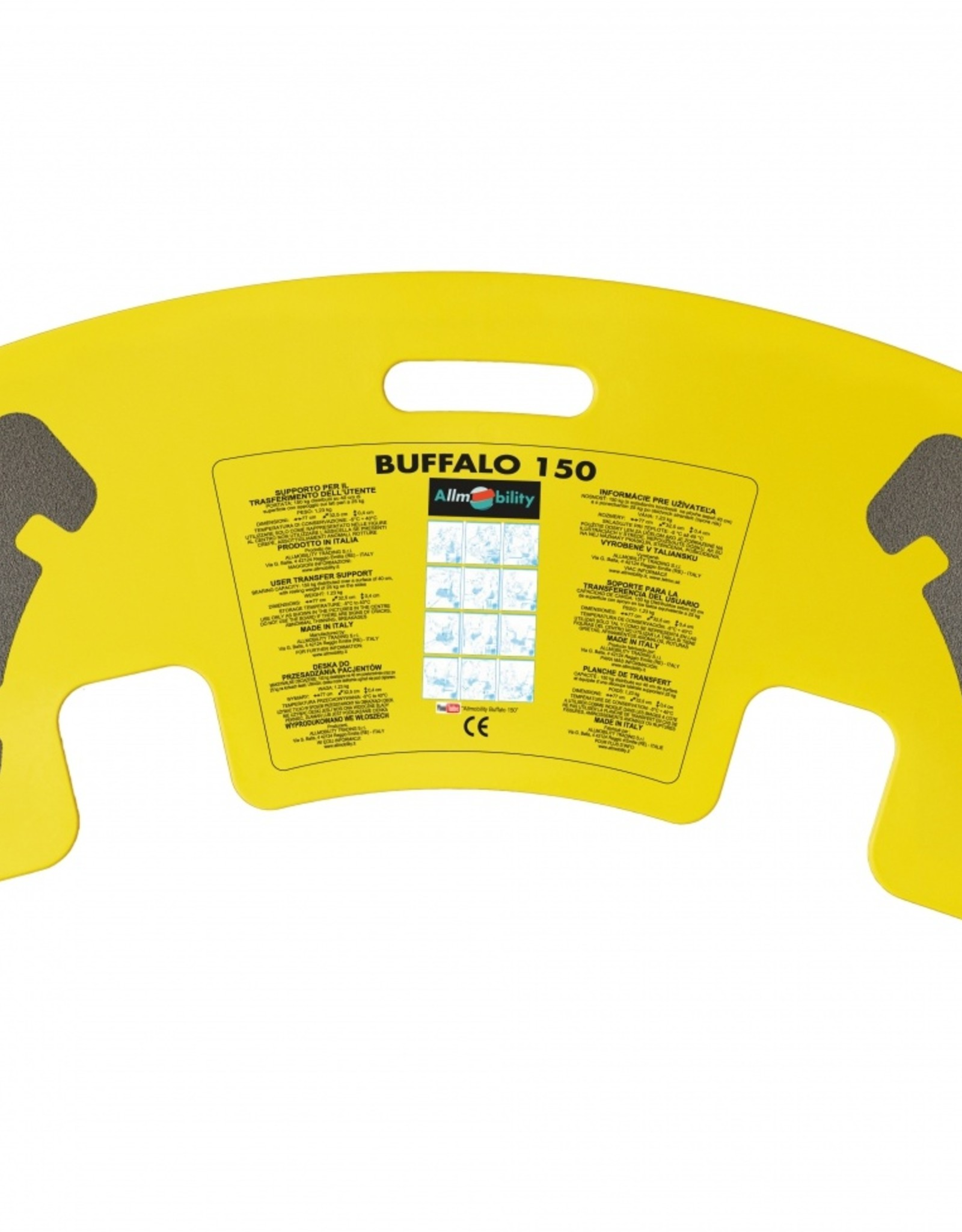 Buffalo transferplank met anti slip