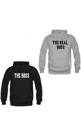 THE (REAL) BOSS COUPLE HOODIES