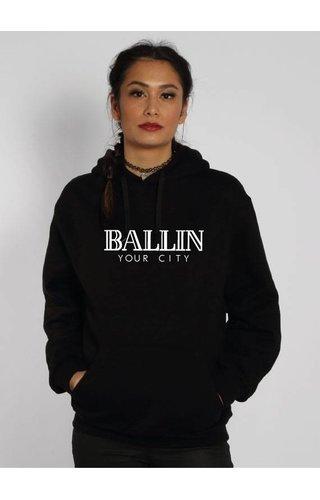 CUSTOM BALLIN HOODIE (WMN)