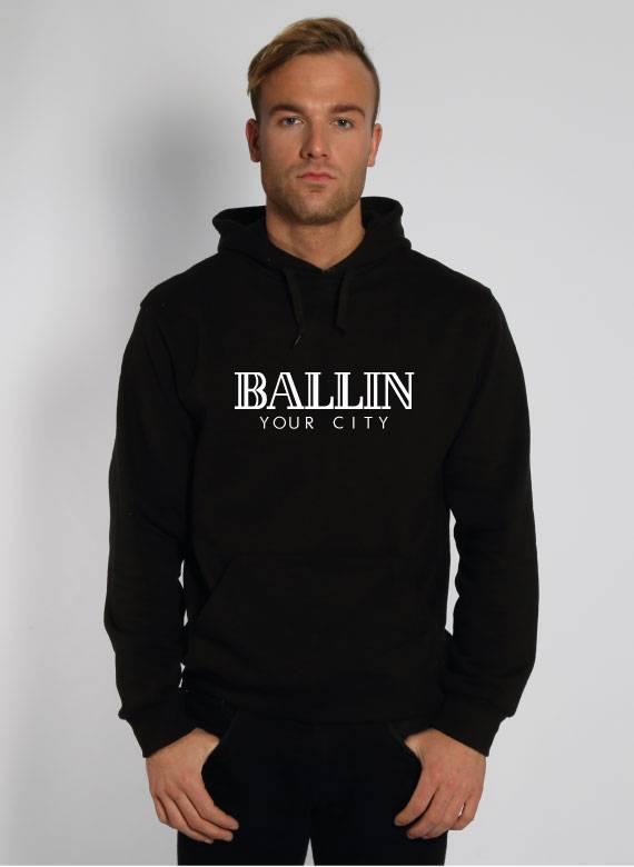 CUSTOM BALLIN SWEATER (MEN) SUGAR&spikes