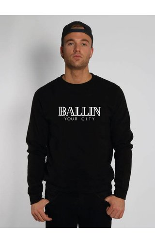 CUSTOM BALLIN SWEATER (MEN)