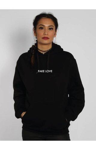 FAKE LOVE HOODIE BLACK