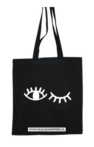 WINK EYES COTTON BAG