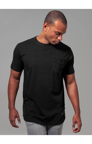 RIPPED POCKET TEE BLACK