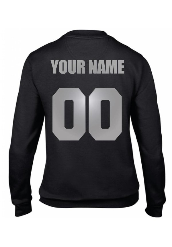 CUSTOM TEAM NUMBER SWEATER SILVER EDITION (WMN)
