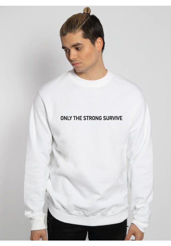 ONLY THE STRONG SURVIVE SWEATER (MEN)