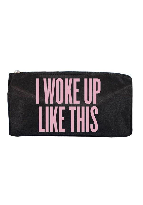 I WOKE UP MAKE UP BAG