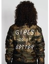 GIRLS DO IT BETTER BOMBER JKT