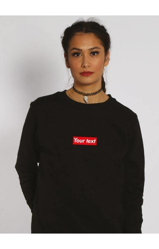 CUSTOM RED BOX SWEATER (WMN)