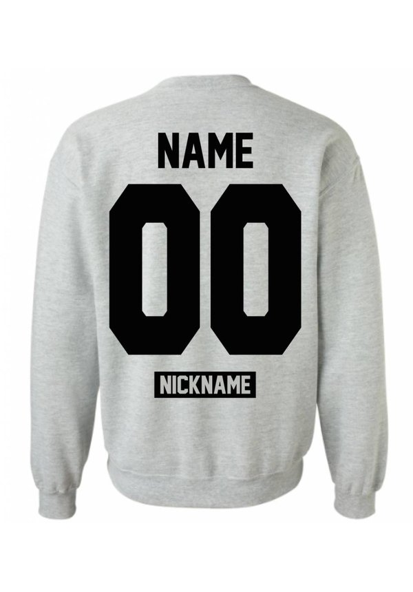 CUSTOM TEAM NUMBER NICKNAME SWEATER (MEN)