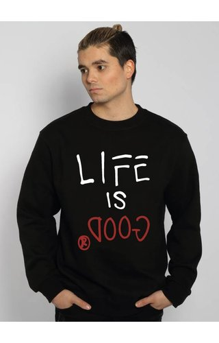 LIFE IS GOOD SWEATER (MEN)