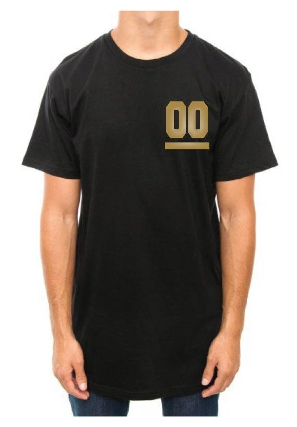 CUSTOM TEAM NUMBER LONG TEE GOLD EDITION (UNISEX)