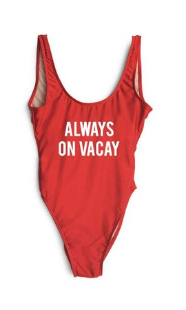 ALWAYS ON VACAY SWIMSUIT