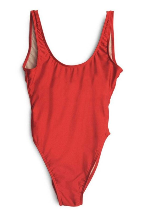 BASIC SWIMSUIT RED