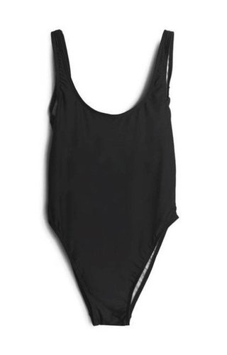 BASIC SWIMSUIT BLACK
