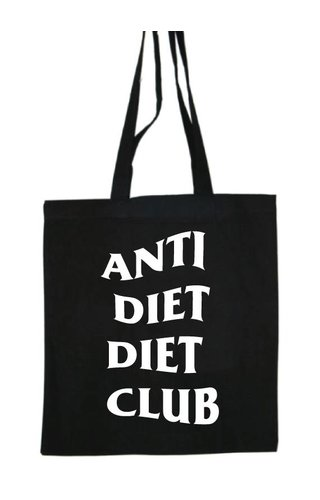 ANTI DIET DIET CLUB COTTON BAG