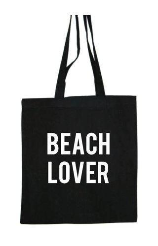 BEACH LOVER COTTON BAG