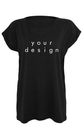 DESIGN YOUR OWN BOYFRIEND TEE (WMN)