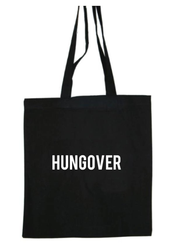 HUNGOVER COTTON BAG