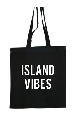 ISLAND VIBES COTTON BAG