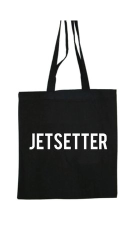 JETSETTER COTTON BAG