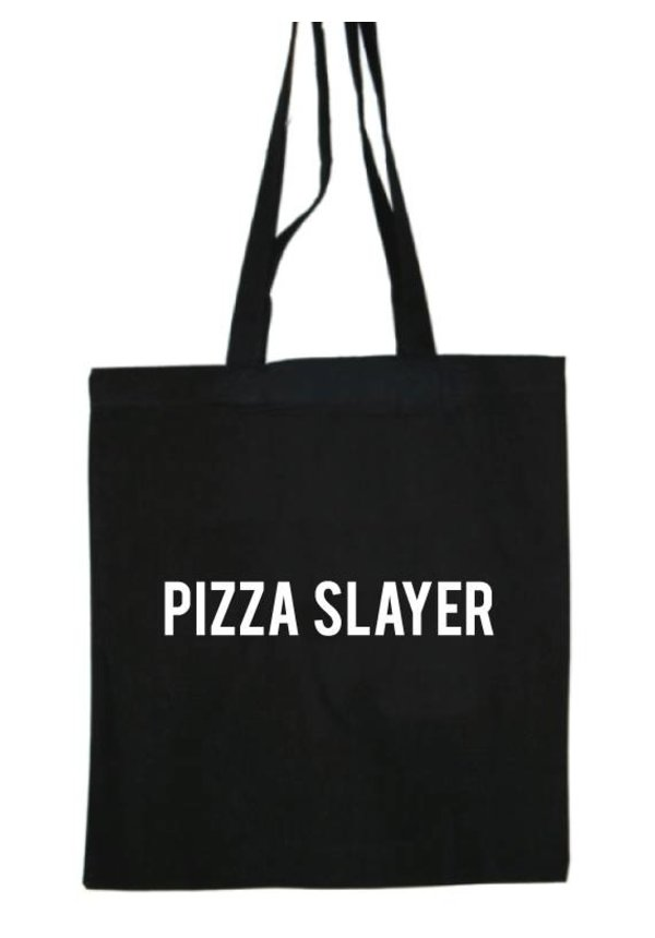 PIZZA SLAYER COTTON BAG