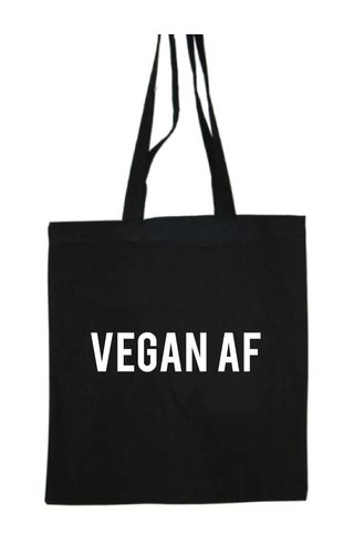VEGAN AF COTTON BAG